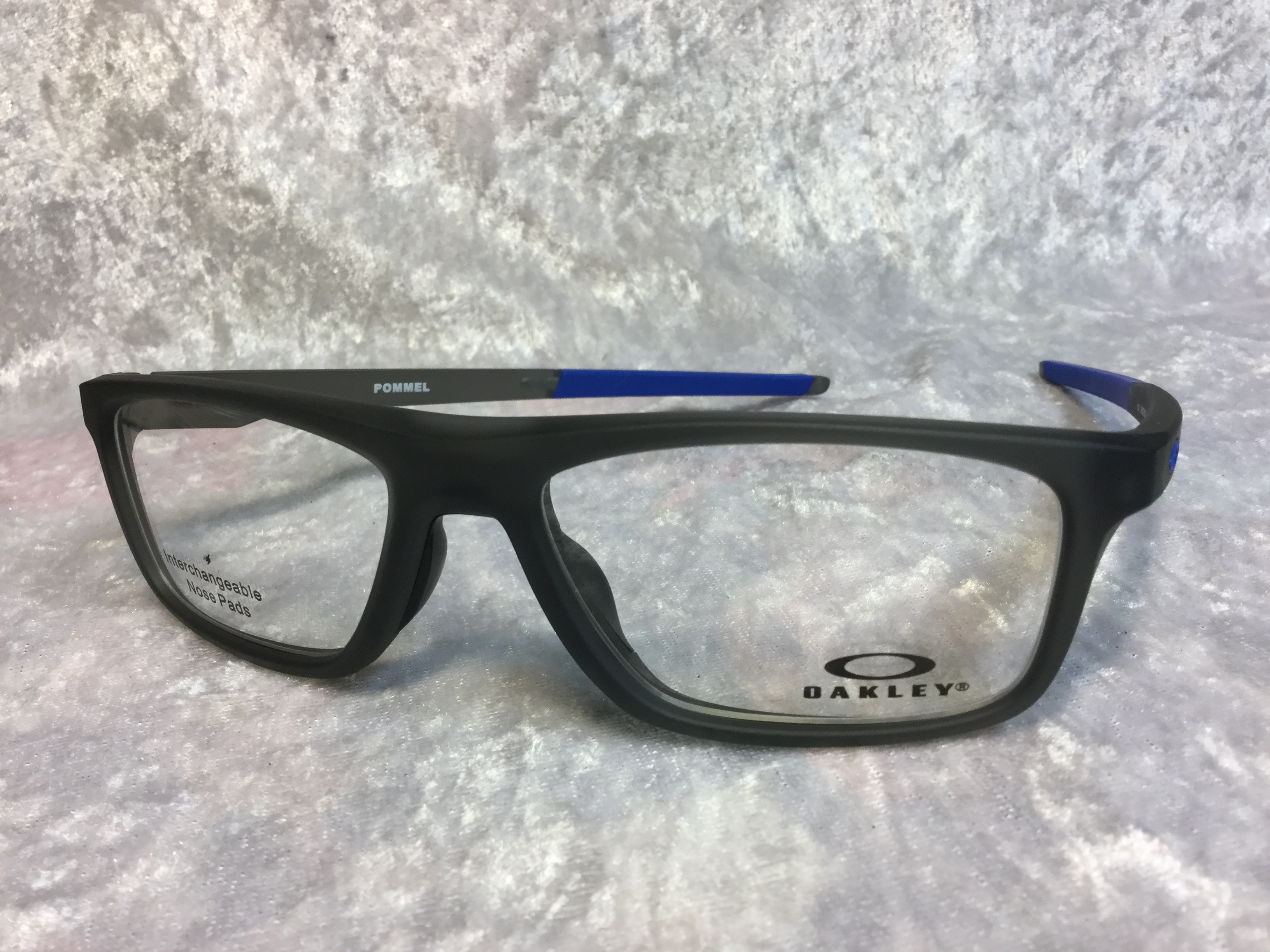 Eyeglasses OAKLEY POMMEL 8127-02 55 Satin Grey Smoke FAEGcr